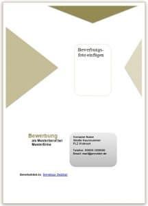 Deckblatt Beispiel und Muster 01